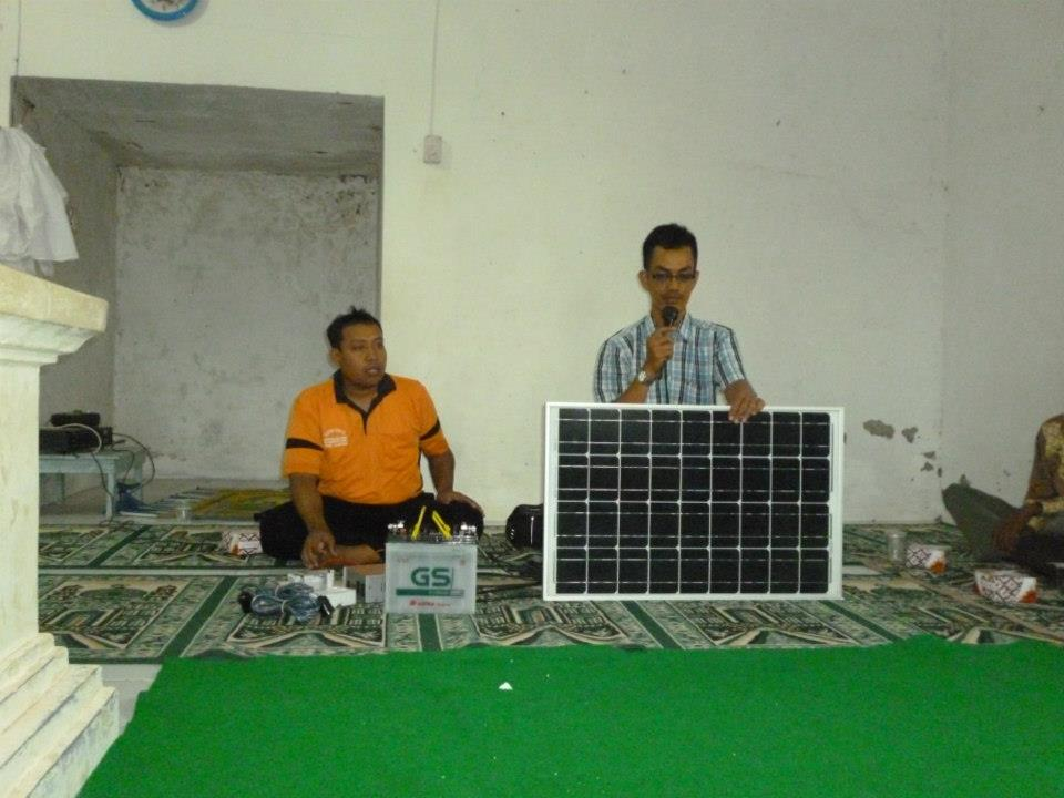 Implementation and Dissemination of Solar Power Plants in Jatisari - South Lampung