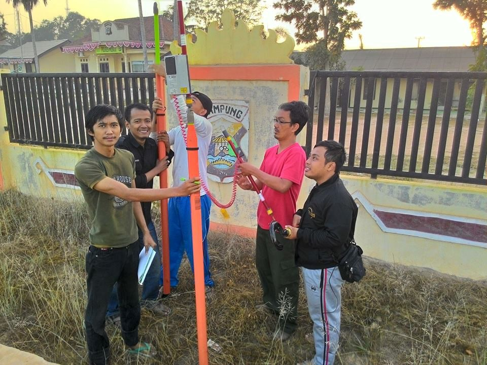 The measurement on the network MV (Medium Voltage) conducted by Unila Team.